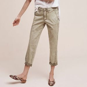 Anthropologie Chino's Relaxed fit slim pants 29